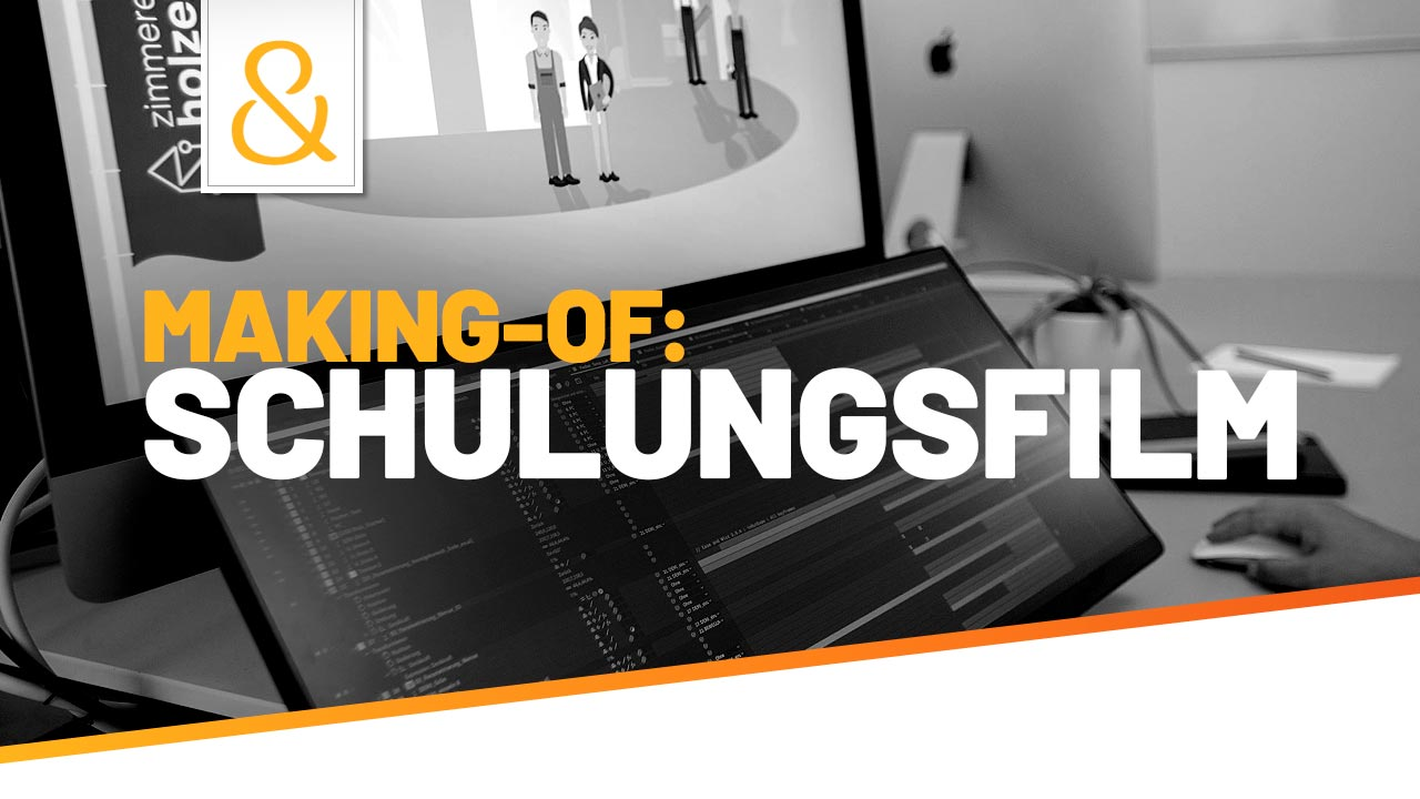 Making-of: Schulungsfilm